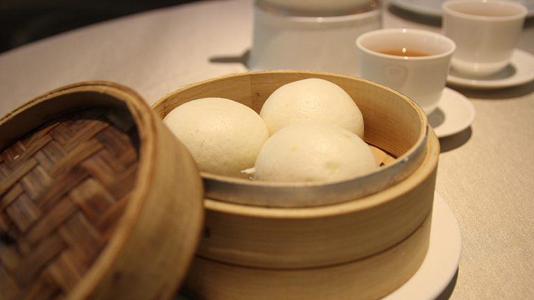 台北喆園 流沙包 桂丁雞